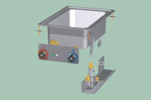 BMD-64EM Vodní lázeň elektrická