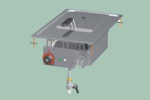 F10D-64ET Fritéza elektrická