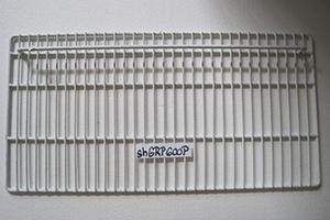 Rošt poplastovaný spodní do lednice HR-600