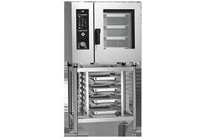 STBB-0611G Konvektomat 6x GN 1/1 bojlerový plynový+mytí