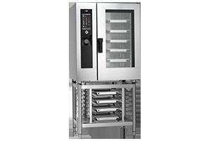 STBB-1011G Konvektomat 10x GN 1/1 bojlerový plynový+mytí