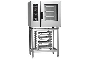 STBD-0611G Konvektomat 6x GN 1/1 nástřikový plynový+mytí