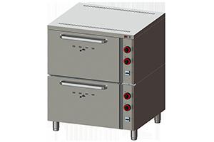 EPP 02 S - Pekařská pec manuální 2x GN 2/1 - 12,6 kW