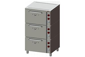 EPP 03 - Pekařská pec manuální 3x GN 2/1 - 12 kW