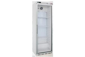 HF 400/G - Skříň mrazicí 350 l prosklené dveře 7x rošt, bílá