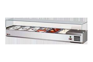 VCH 3150 Vitrínka chladící 150cm 6 x GN 1/3