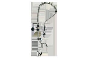 DOC 6+ - Sprcha ze stolu s ramínkem a s baterií pákovou
