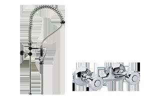 DOC 2+ - Sprcha ze zdi s baterií