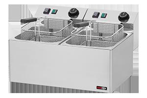 FE 77 E - Fritéza el. dvojitá 0,38 kW/l, 8+8 l stolní 230 V