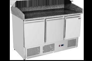 Redfox SP 903 - Stůl chladicí el. GN 1/1 3 dveře pizza 230 V