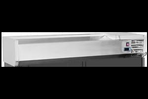 VCH 4140 - Vitrína chladicí GN 1/4 - 140 cm bez pod.
